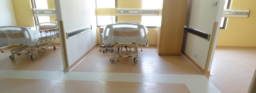 ... Hospital Flooring   An Anti Fungal/Anti Bacterial/Antistatic Flooring  Ideal For Hospitals,